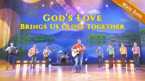 Christian Worship Music - God's Love Brings Us Close Together (Male Solo)