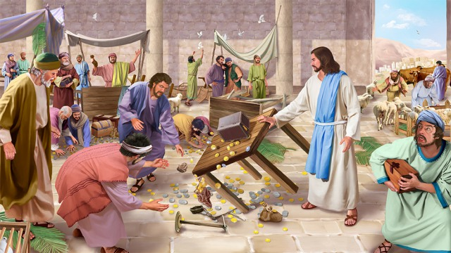 Matthew 21:12-17 – Jesus Cleanses the Temple