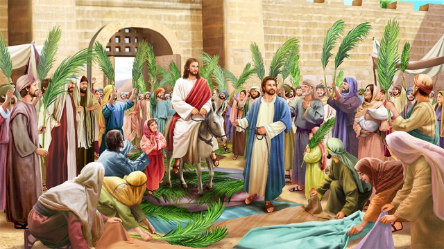 The Lord Jesus' Triumphal Entry into Jerusalem – Bible Story