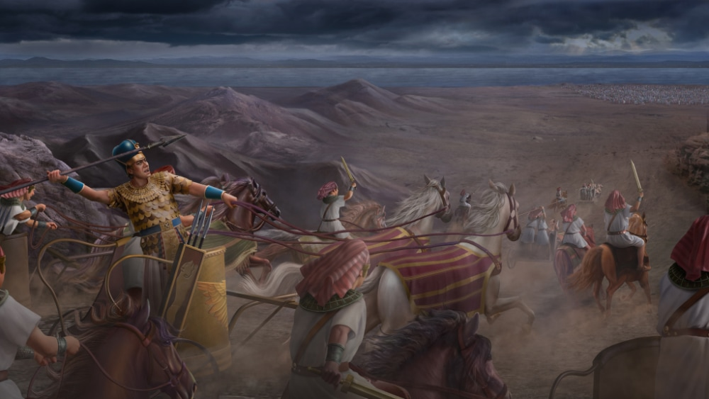 Pharaoh Pursues the Israelites