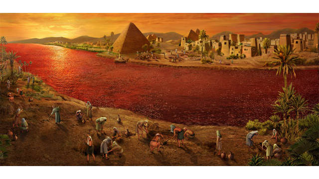 Exodus 7 – The First Plague: Blood