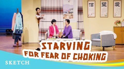 """English Christian Skit """"Starving for Fear of Choking"""""""