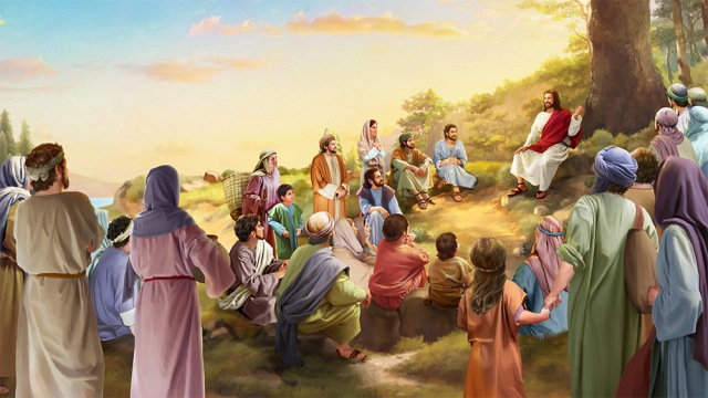 The Lord's Sermon on the Mount on the Eight Beatitudes