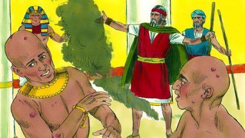 Exodus 9 - The Sixth Plague: Boils - Ten plagues of Egypt