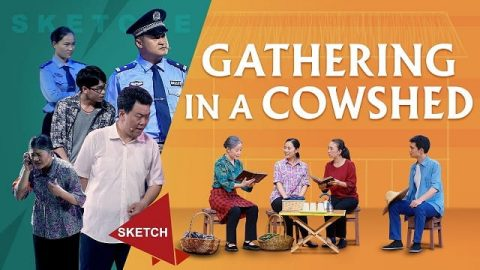 Gathering in a Cowshed - Church Skits