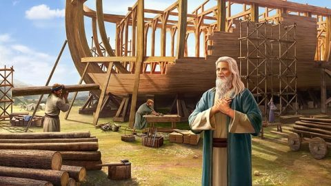 God Intends to Destroy the World With a Flood, Instructs Noah to Build an Ark