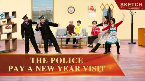 The Police Pay a New Year Visit - Church Skits