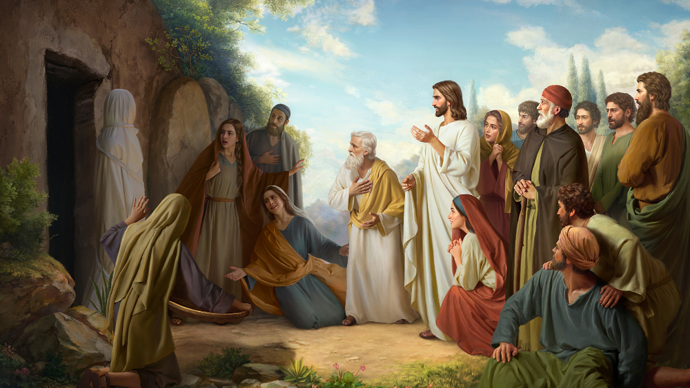 lazarus resurrection, lazarus rose from the dead, lazarus death and resurrection, the resurrection of lazarus in the bible