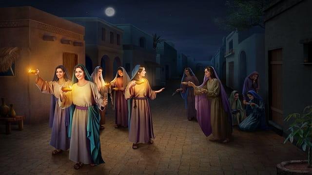 wise virgins and foolish virgins