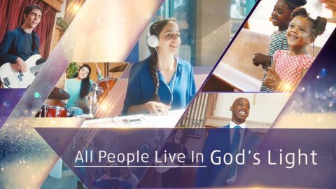 All People Live in God's Light - Christian Music Video