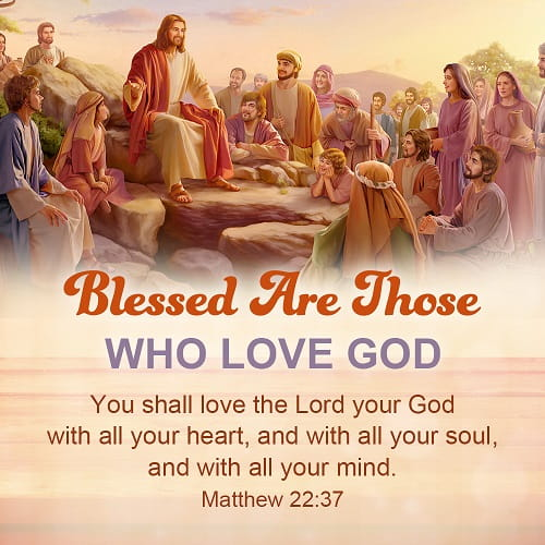 Bible Verse - Matthew 22:37