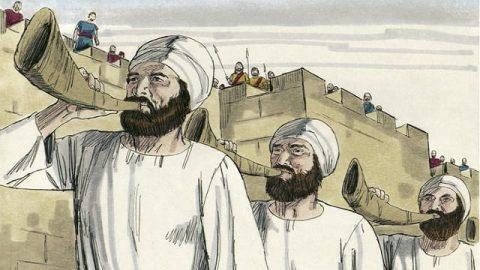 Joshua 6 – The Walls of Jericho