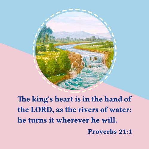 Bible Verse – Proverbs 21:1