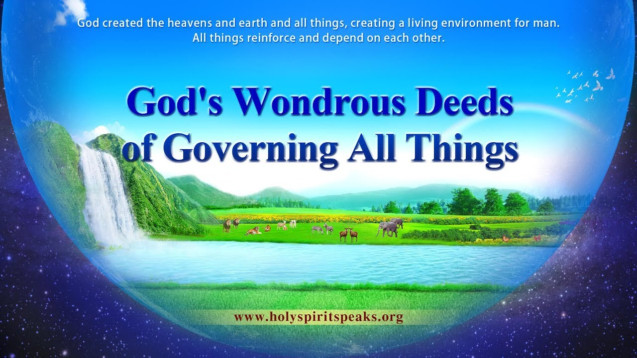 """Praise Songs """"God's Wondrous Deeds of Governing All Things"""""""