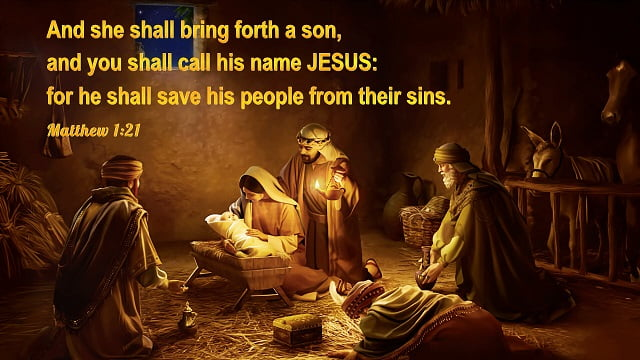 Bible verses about Christmas,the birth of Jesus