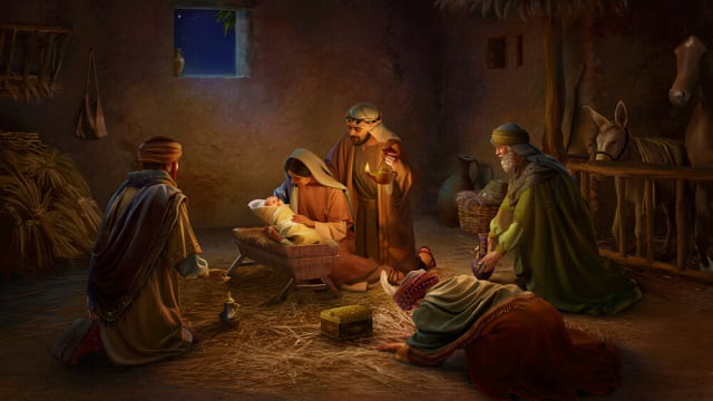 the birth of the Lord Jesus