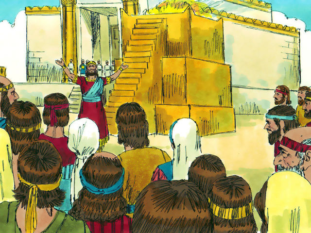 wealthy was Solomon