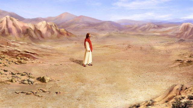 Lord Jesus fasted for forty days in the wilderness