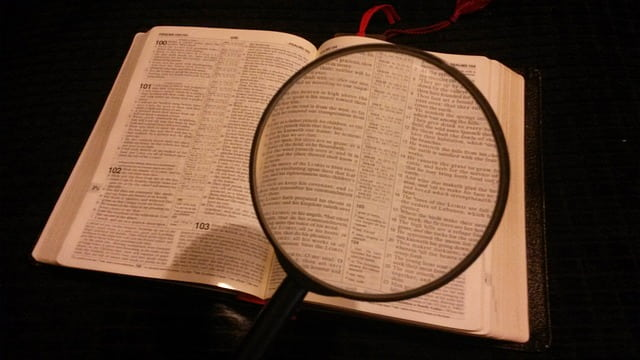bible,christian,magnifier