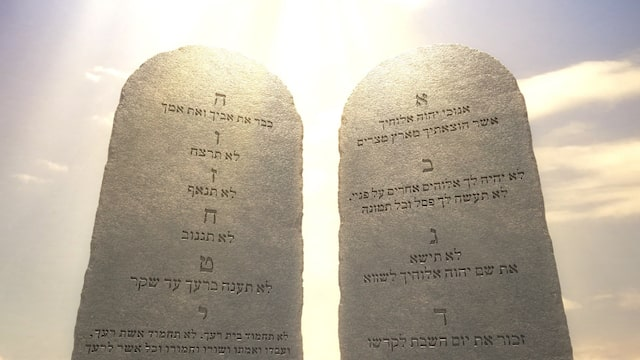 the ten mommandments in the bible, Torah