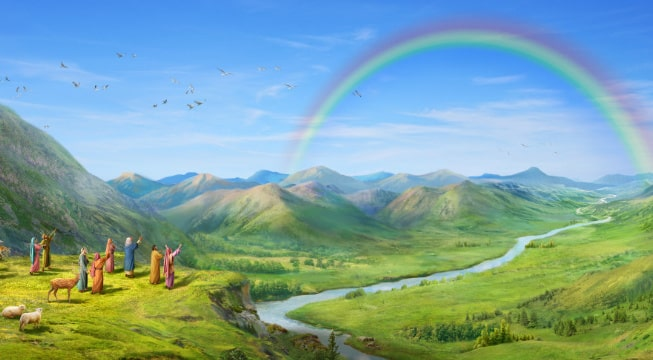 After He Makes All Things, the Authority of the Creator Is Confirmed and Shown Forth Once More in the Rainbow Covenant