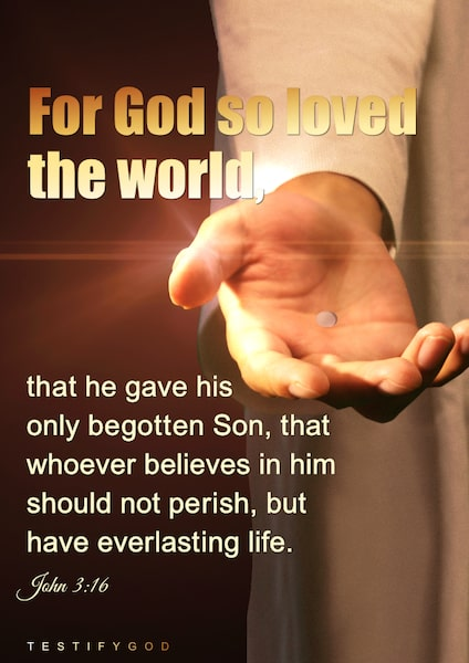 God So Loves the World,John 3:16