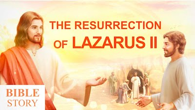 The Lord Jesus Resurrecting Lazarus Manifests the Authority of the Incarnated God