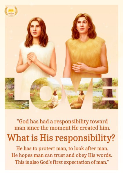 God's Responsibility Toward Mankind  – Truth Quote