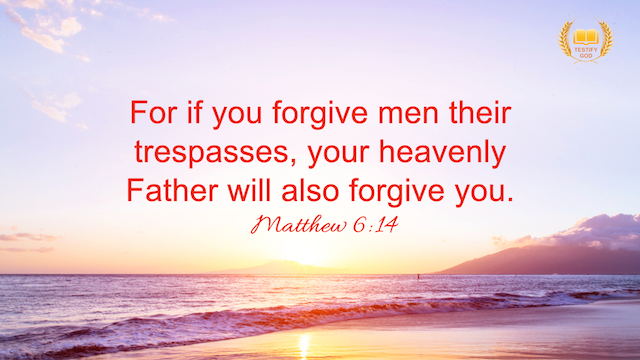 Reflection on Matthew 6:14—Forgive Others