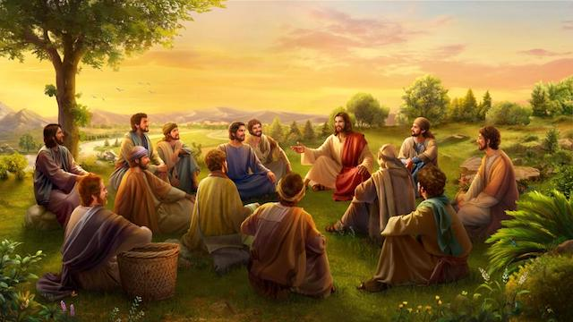 God incarnate comes to do His work on earth