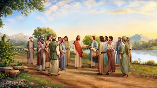 Leaven of the Pharisees, Jesus and His disciples,