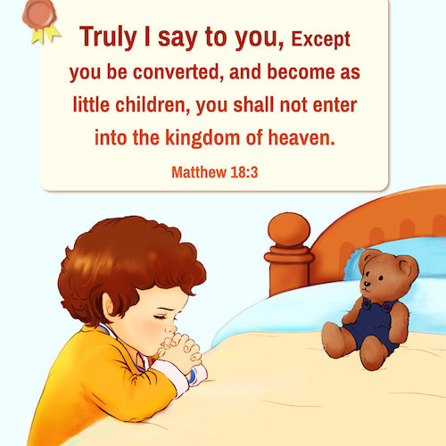 Be Like a Little Child – Matthew 18:3