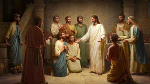 The Risen Lord Jesus Appears to Disciples – Gospel Reflection on Matthew 28:9