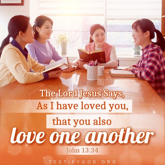 Gospel Reflection on John 13:34, A new commandment I give to you, love one another
