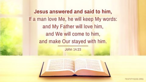 Keep God's Word and God Will Be With Us – Gospel Reflection on John 14:23