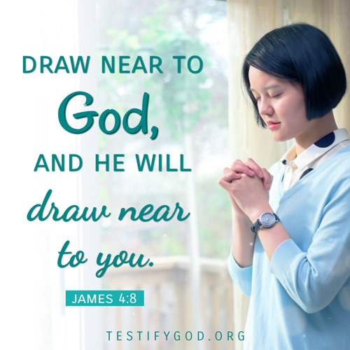 Be Quiet Before God and Draw Near to Him – James 4:8