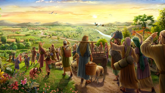 Israelites Enter the Land of Canaan The Promised Land