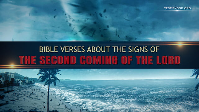 Bible Verses About the Signs of the Second Coming of the Lord
