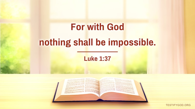 luke 1:37 reflection and meaning and explanation