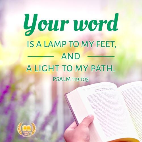 Psalm 119:105 – Bible Verse Image