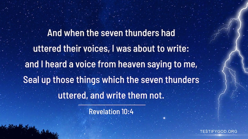 Reflection on Revelation 10-4
