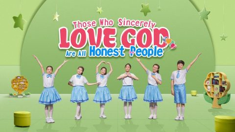 "Children Praise Dance ""Those Who Sincerely Love God Are All Honest People"""